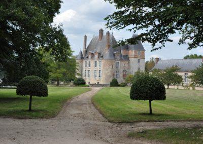 chateau 17e vue de la chapelle Copier